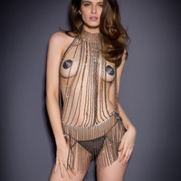 New In by Agent Provocateur - Yarolika Playsuit