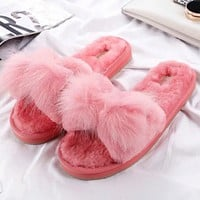 UGG Fashion and leisure hair Slipper