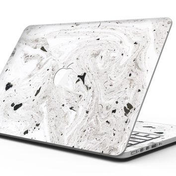 Mixtured Gray Textured Marble - MacBook Pro with Retina Display Full-Coverage Skin Kit