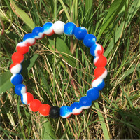 Lokai Bracelet Red/Blue