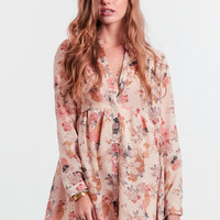 California Dreaming Floral Dress