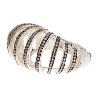 Ippolita | Sterling Silver Diamond Detail Cutout Ring - 0.82 ctw | Nordstrom Rack