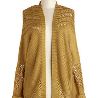 ModCloth Mid-length Long Sleeve Casual Collection Cardigan