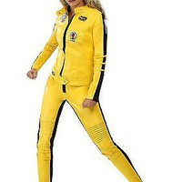 Kill Bill Beatrix Kiddo Motorcycle Suit