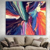 Trippy Colors Tapestry