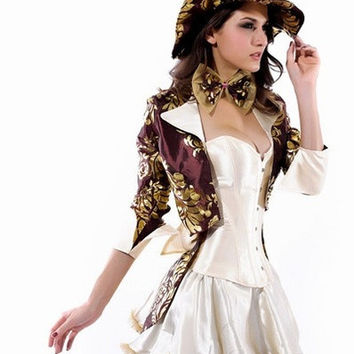 Deluxe Tea Party Hatter Costume LC8487+ Cheaper price +  + Fast Delivery = 1920020868