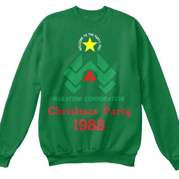 Nakatomi Party 1988 Ugly Christmas Sweater