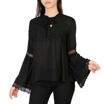 Imperial Black Blouse w/ Lace