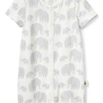 Organic Elephant Shorty One-Piece | Gap