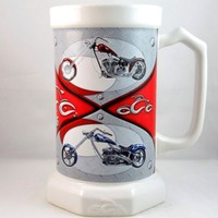 Orange County Choppers 2006 Stein Mug Collectible Houston Harvest Gift Products