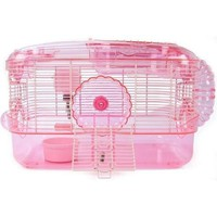 Super Pet Crittertrail One Level Habitat Cage Kit Pink
