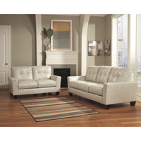 Flash Furniture Benchcraft Paulie Living Room Set in Taupe DuraBlend [FBC-3999SET-TPE-GG]