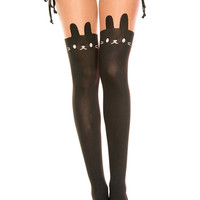 Rabbit Design Over The Knee Tights