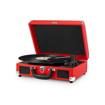 Innovative Technology Vintage 3-Speed Suitcase Bluetooth Turntable | Dillards