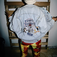 Vintage Looney Tunes Denim Jacket XS