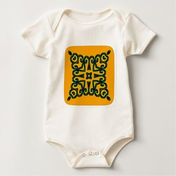 Decorative Baby Bodysuit