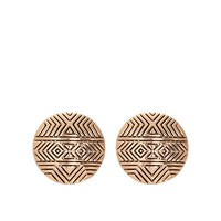 House of Harlow 1960 Jewelry Tholos Mosaic Earrings