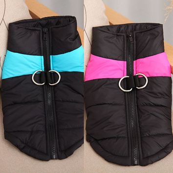 WINTERVALE Warm Puffy Winter Dog Coat