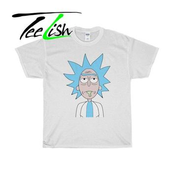 rick and morty graphic shirt and tshirts - Unisex Heavy Cotton Tee S-5XL