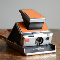Vintage Polaroid SX-70 Camera | Red Line Vintage