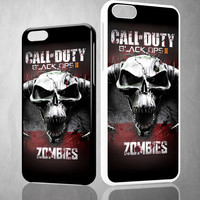 call of duty black ops zombie Y0097 iPhone 4S 5S 5C 6 6Plus, iPod 4 5, LG G2 G3, Sony Z2 Case