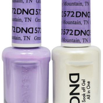 DND - Gel & Lacquer - Great Smoky Mountain, TN - #572