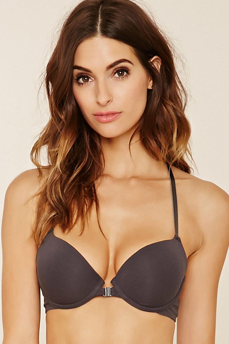 ed47248393 Lace-Back Push-Up Bra from Forever 21