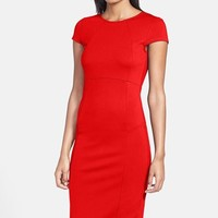 Women's FELICITY & COCO Seamed Pencil Dress (Nordstrom Exclusive)