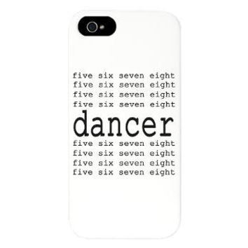 dancer numbers iPhone 5 Case