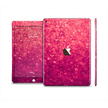 The Unfocused Pink Glimmer Skin Set for the Apple iPad Air 2