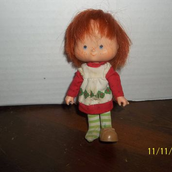 "vintage 1980's strawberry shortcake doll curved hands 5 1/4"" tall #5"