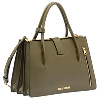 Miu Miu - Totes - Military Green - Germany - 5BA104_2AJB_F0161_V_OOO