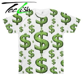 money & dollar signs shirt