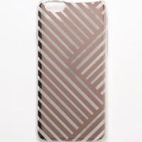 With Love From CA Rose Gold Geo Cut iPhone 6/6s Case - Womens Scarves - Rose Gold - One