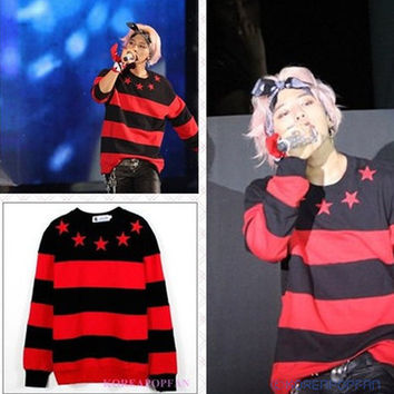 G-DRAGON BIGBANG FAN GD SWEATER KPOP NEW