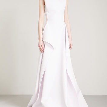 MATICEVSKI Opening Night fit-and-flare woven gown