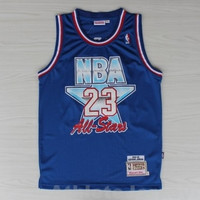 Michael Jordan 23 All Star 1992-1993 Hardwood Classics NBA Basketball Jersey Jordan