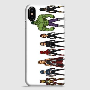 The Avengers iPhone X Case