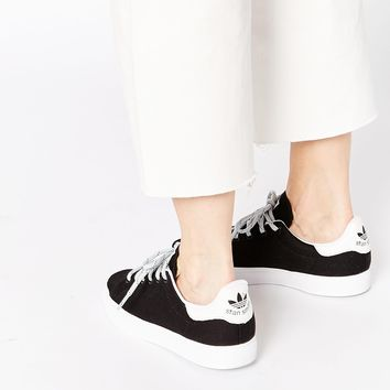 adidas Originals Stan Smith Vulcan Black & White Trainers