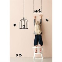 Tweeting Birds wall decoration from Ferm Living by Ferm Living