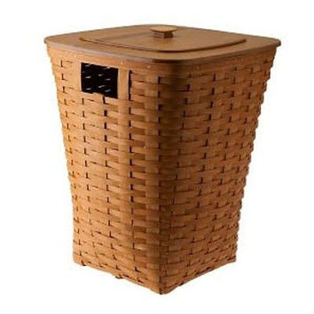 Longaberger Hamper Basket / WoodCrafts Lid / Protector - 3 Colors  **NEW**