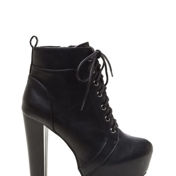 Retro Active Chunky Platform Booties
