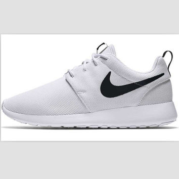 NIKE Women Men Running Sport Casual Shoes Sneakers Black hook White hook