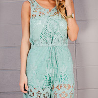 Who's That Chic? Lace Romper