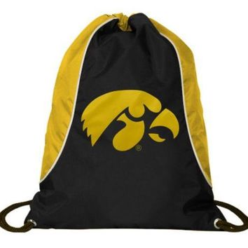 Concept One Iowa State Hawkeyes Drawstring Back Pack Book Bag School Red Gym#15
