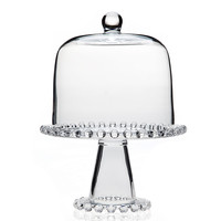 Chesterfield Cake Plate w/ Dome, Cake Stands & Tiered Trays