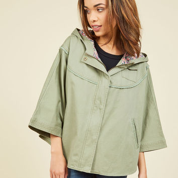 Art Market Adventure Cape | Mod Retro Vintage Jackets | ModCloth.com