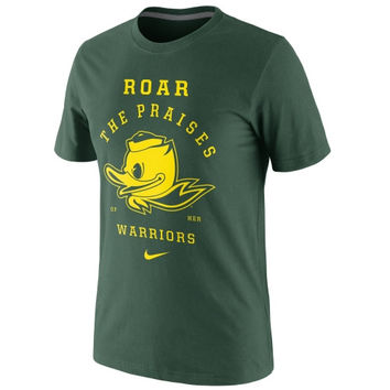 Nike Oregon Ducks Fight Song T-Shirt - Green