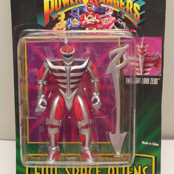 BANDAI Mighty Morphin POWER RANGERS Vintage evil space aliens  Evil Light Lord Zedd 1994 new unopened Free Shiping