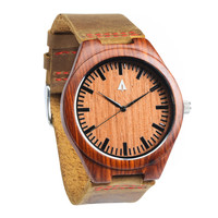 Wooden Watch // Rouge